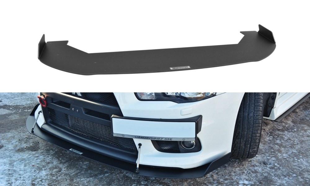 Splitter Przedni Mitsubishi Lancer Evo X V.1 Racing - GRUBYGARAGE - Sklep Tuningowy